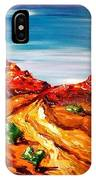 Impressionist Road IPhone Case