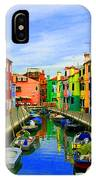 Impressionistic Photo Paint Gs 013 IPhone Case