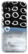 In Circles 2-abstract Painting IPhone Case