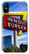 In N Out IPhone Case