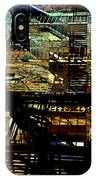 In Perspective - Fire Escapes - Old Buildings Of New York City IPhone Case
