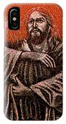 In The Arms Of Christ IPhone Case