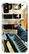 In The Chicken Coop IPhone Case