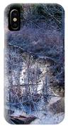 In The Corner Of The Pond IPhone Case
