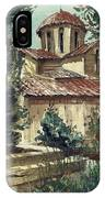 In The Courtyard IPhone Case