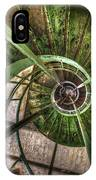 In The Eye Of The Spiral  IPhone Case