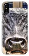 In The Eyes Of The Bull IPhone Case