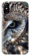 In The Eyes Of The Owl IPhone Case