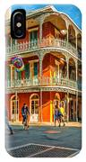 In The French Quarter - Paint IPhone Case