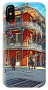 In The French Quarter Painted IPhone Case