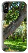 In The Garden. Mauritius IPhone Case