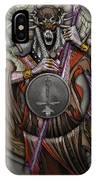 In The Halls Of The Mage-king IPhone Case