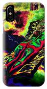 In The Kaleidoscopic Clutches Of Books IPhone Case