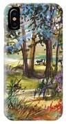 In The Pasture  IPhone Case