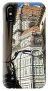 In The Shadow Of Il Duomo IPhone Case