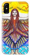 In The Shadow Of Thy Wings Psalms IPhone Case