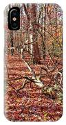 In The Shadows Of Fall 1 IPhone Case