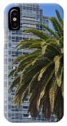 In The Shadows Of The Palm IPhone Case
