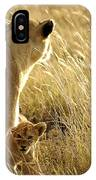In The Tall Grass IPhone Case