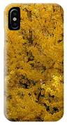 In The Thick Of Autumn IPhone Case