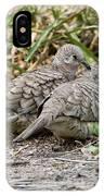 Inca Doves IPhone Case
