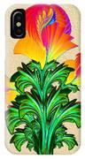 Incendia Flowers #5 IPhone Case