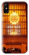 Incredible Art Nouveau Antique Grand Central Station - New York IPhone Case