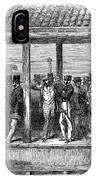 India Train Station, 1854 IPhone Case