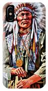 Indian Chief IPhone Case