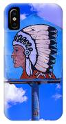 Indian Chief Sign IPhone X Case