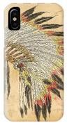 Indian Head Dress-a IPhone Case