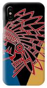 Indian Head Series 01 IPhone Case