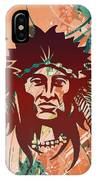 Indian Head Series 02 IPhone Case
