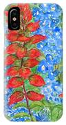 Indian Paintbrush And Bluebonnets IPhone Case