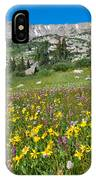 Indian Peaks Wildflower Meadow IPhone Case
