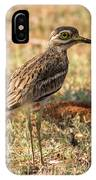 Indian Stone-curlew Or Indian Thick-knee IPhone Case