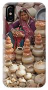 Indian Women Selling Pottery IPhone X Case