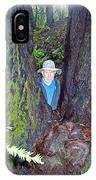 Indiana Jones In Armstrong Redwoods State Preserve Near Guerneville-ca IPhone Case