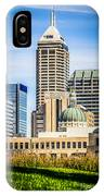 Indianapolis Cityscape Downtown City Buildings IPhone Case