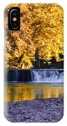 Indianhead Dam - Perkiomen Creek IPhone Case