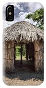 Indigenous Tribe Huts In Puer IPhone Case