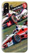 Indy Car's Penske Team Juan Montoya Helio Castroneves Will Power   IPhone Case