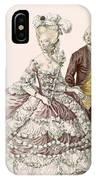 Informal Wedding Dress, Engraved IPhone Case