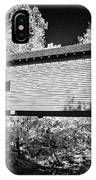 Infrared Covered Bridge IPhone Case