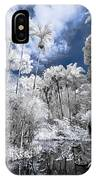 Infrared Pond And Reflections 2 IPhone Case
