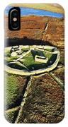 Inishmurray Island County Sligo Ireland Early Celtic Christian Ring Fort Cashel Monastic Settlement  IPhone Case