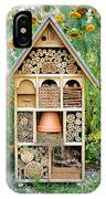Insect Hotel IPhone Case