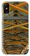 Inside A Covered Bridge 3 IPhone Case