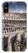 Inside Colosseum IPhone Case
