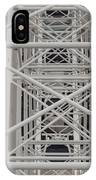 Inside Of The Ferris Wheel IPhone Case